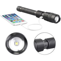 2in1-LED-Taschenlampe und Powerbank, 3.600 mAh, 1.000 Lumen, 10 Watt