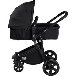 BabyGo Kombi-Kinderwagen Spring, black