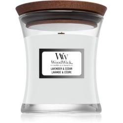 Woodwick Lavender & Cedar Duftkerze 85 g