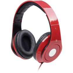 Gembird Detroit On Ear Kopfhörer On Ear Faltbar, Headset Rot