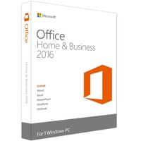 Microsoft Office Home & Business 2016 ESD DE Win