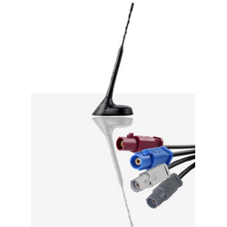 Antenne Bad Blankenburg Antenne AM/FM, DAB/ DAB+, GSM900/1800, UMTS, GPS schwarz