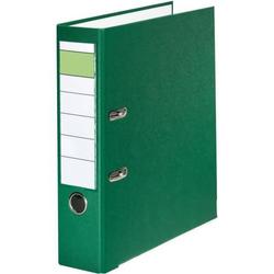 Ordner A4 PP grüner Balken 80mm grün