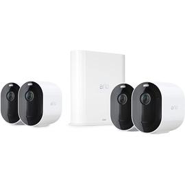Arlo Kabelloses Sicherheitssystem Pro 3 mit 4 HD-Kameras VMS4440P