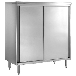 GGG Geschirrschrank aus CNS 18-10, 2000x600x2000mm