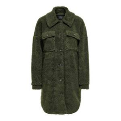 ONLY Teddy Hemd Jacke Damen Grün Female XL