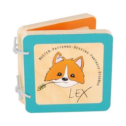 "Small Foot Lernspielzeug Babybuch ""Lex"" (Muster)"