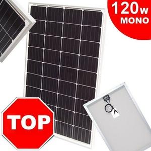 Solarpanel Solarmodul 56419 MONOkristallin 120W Solarzelle 12V Solar Mono
