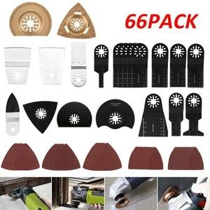 66-tlg.Multifunktionswerkzeug Zubehör Für Fein Bosch Makita Multitool Werkzeug