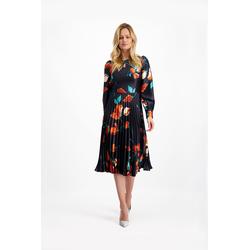 Lavard Plisseekleid mit einem Blumenmotiv 8512