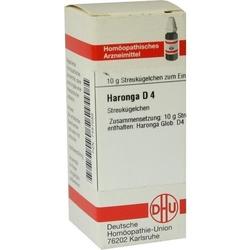 HARONGA D 4 Globuli 10 g
