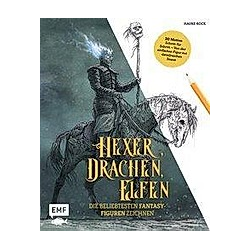 Hexer, Drachen, Elfen - die beliebtesten Fantasy-Figuren zeichnen