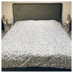 Bettüberwurf Bettdecke Allzweckdecke Steppdecke Überwurf Kuscheldecke Wohndecke, Mucola, auch als Tischdecke und Sofaüberwurf einsetzbar 240 cm x 210 cm