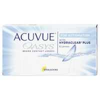 Acuvue Oasys for Astigmatism 6 St. / 8.60 BC / 14.50 DIA / +5.00 DPT / -2.25 CYL / 10° AX