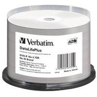 Verbatim DVD-R 4.7GB 16x bedruckbar 50er Spindel (43755)
