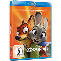 BLU-RAY Zoomania (Disney Classics) Hörbuch