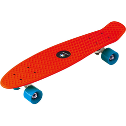 L.A. Sports Skateboard Kinder Skateboard Mini Cruiser Board rot