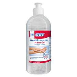 SOS DESINFIZIERENDES Hand-Gel 500 ml