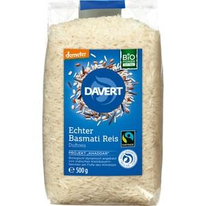 Reis, Basmati-Reis weiß, demeter