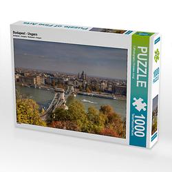 Budapest - Ungarn Lege-Größe 64 x 48 cm Foto-Puzzle Bild von TJPhotography Puzzle