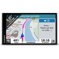 Garmin DriveSmart 65 MT-D EU Navi - extragroßes Touch-Display, 3D-Navigationskarten und Live-Traffic via DAB+ & GPS-Navigationsgerät