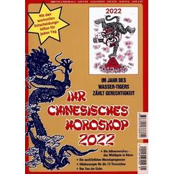 Ihr Chinesisches Horoskop 2022