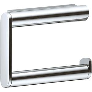KEUCO Toilettenpapierhalter aus Metall, hochglanz-verchromt, offene Form, WC-Rollenhalter für Badezimmer und Gäste-WC, Plan