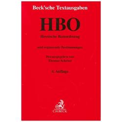 Hessische Bauordnung als Buch von