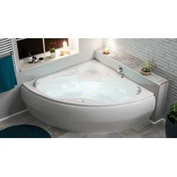 Emotion Whirlpool-Badewanne Enjoy Whirlpool Set mit der Befüllung über den Überlauf