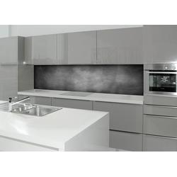 Küchenrückwand - Spritzschutz profix, Tafel, 220x60 cm grau
