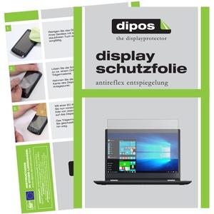dipos I 2X Schutzfolie matt kompatibel mit Lenovo ThinkPad Yoga 370 Folie Displayschutzfolie