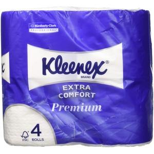 Kimberly Clark 8484 KLEENEX Toilet Tissue Rollen, Kleinrollen, 160 sc, Weiß
