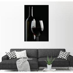 Posterlounge Wandbild, Guter Rotwein 40 cm x 60 cm