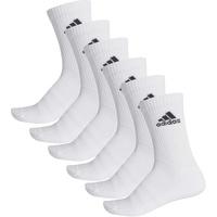adidas Sportsocken 6er Pack - Unisex - white/white/white in Größe 43-46, Artikelnr. 14516034346