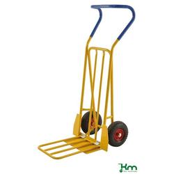 Kongamek Gepäck- & Sackkarre 780 x 560 x 1320 mm Gelb Unplattbare Räder KM104-HPFR