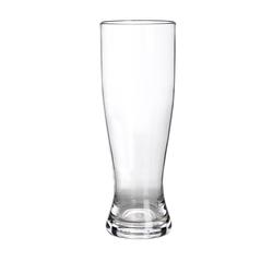 GIMEX Bierglas Campinggeschirr Mehrweg Kunststoff Weizenglas Bierglas klar einzeln 0,5l, Kunststoff