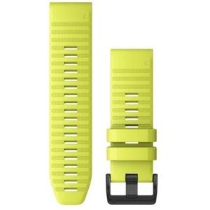 QuickFit 26-Uhrenarmbänder Gelbes Silikon
