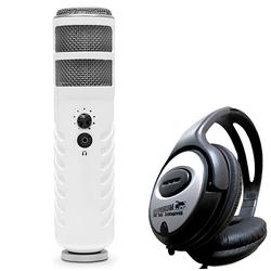 RODE Microphones Mikrofon Rode Podcaster MKII USB Mikrofon + Kopfhörer
