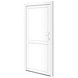 RORO Türen & Fenster Nebeneingangstür OTTO 22, BxH: 98x198 cm, weiß, ohne Griffgarnitur