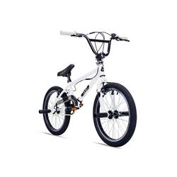 bergsteiger BMX-Rad Ohio, 1 Gang weiß