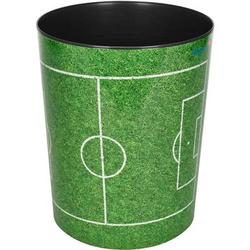 Papierkorb Motivposter 13 Liter Fußballfeld