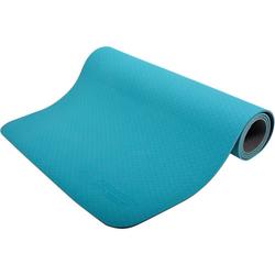 Yogamatte 4mm, blau