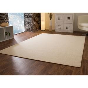 Designer Teppich Modern Berber Wellington in Beige, Größe: 80x300 cm