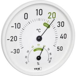 TFA Dostmann Thermo-/Hygrometer Weiß
