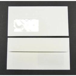 Briefumschläge Conqueror Texture DINlang 120g/qm HK Fenster VE=500 Stück weiß