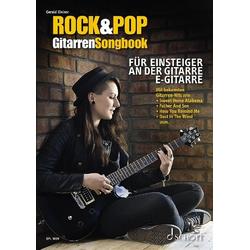 Rock&Pop Gitarren-Songbook als Buch von