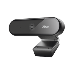 Trust Tyro Full HD Video Webcam mit Autofokus und Stativ Full HD Video