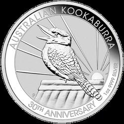 1 Unze Silber Kookaburra 2020