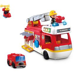 Vtech® Spielzeug-Feuerwehr 2-in-1-Feuerwehrstation, mit Licht und Sound