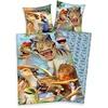 Kinderbettwäsche Selfies Dinosaurier, mit tollem Dinosaurier-Motiv